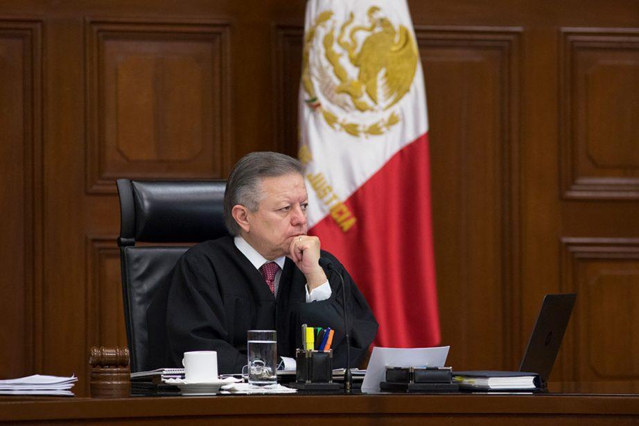 Arturo Zaldivar Ministro Presidente de la Suprema Corte de Justicia de la Nación