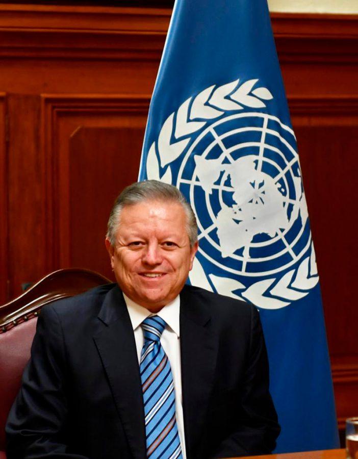 Ministro Presidente Artuo Zaldivar