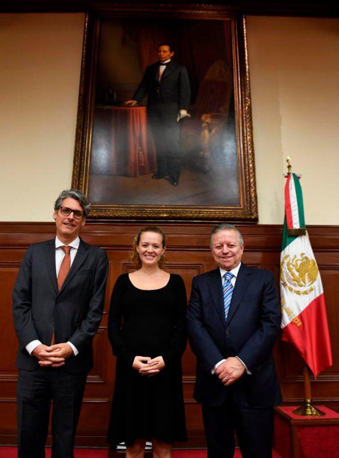 Convenio de colaboración del Poder Judicial de la Federación y la ACNUR
