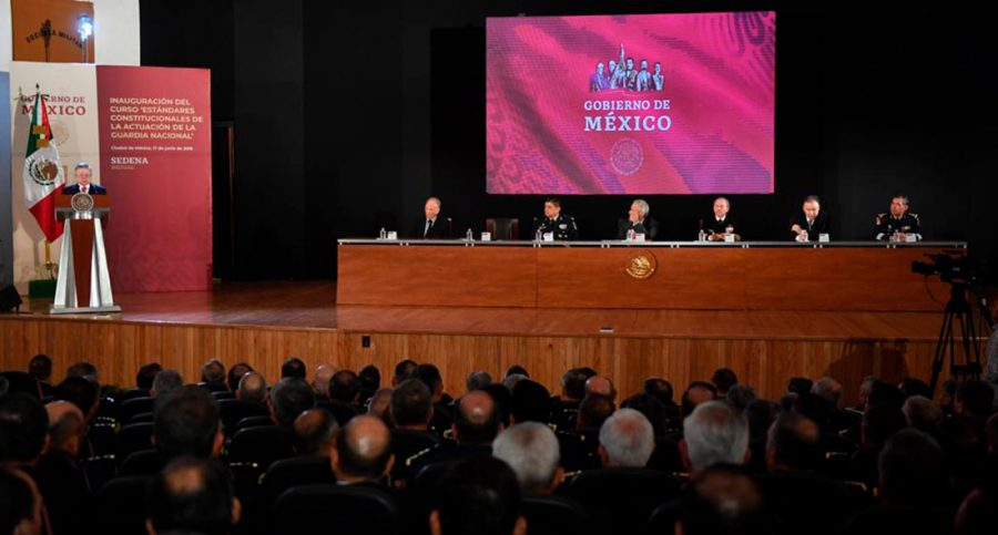 Inauguración del curso Estándares Constitucionales de la actuación de la Guardia Nacional - Ministro Presidente Arturo Zaldivar