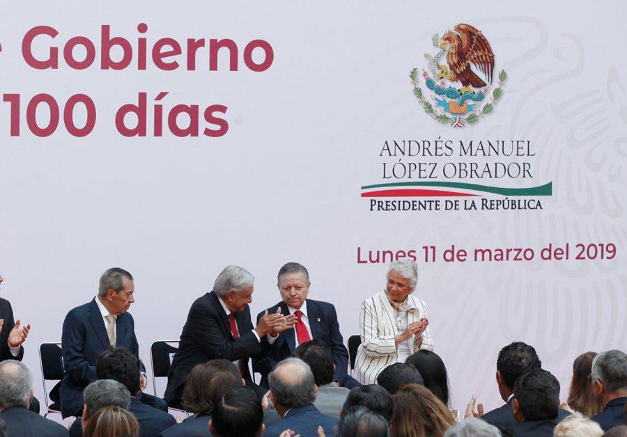 Informe de Gobierno de 100 días del Presidente Andrés Manuel López Obrador - Ministro Presidente Arturo Zaldivar