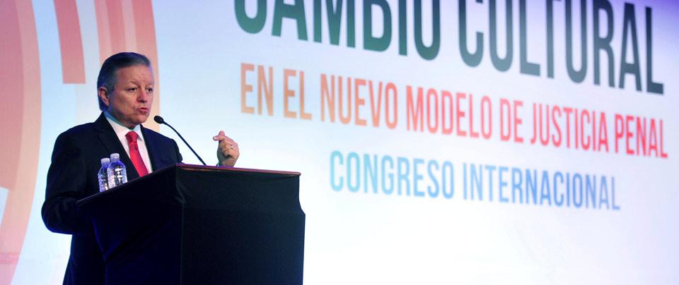 Ministro Presidente Arturo Zaldivar - Congreso