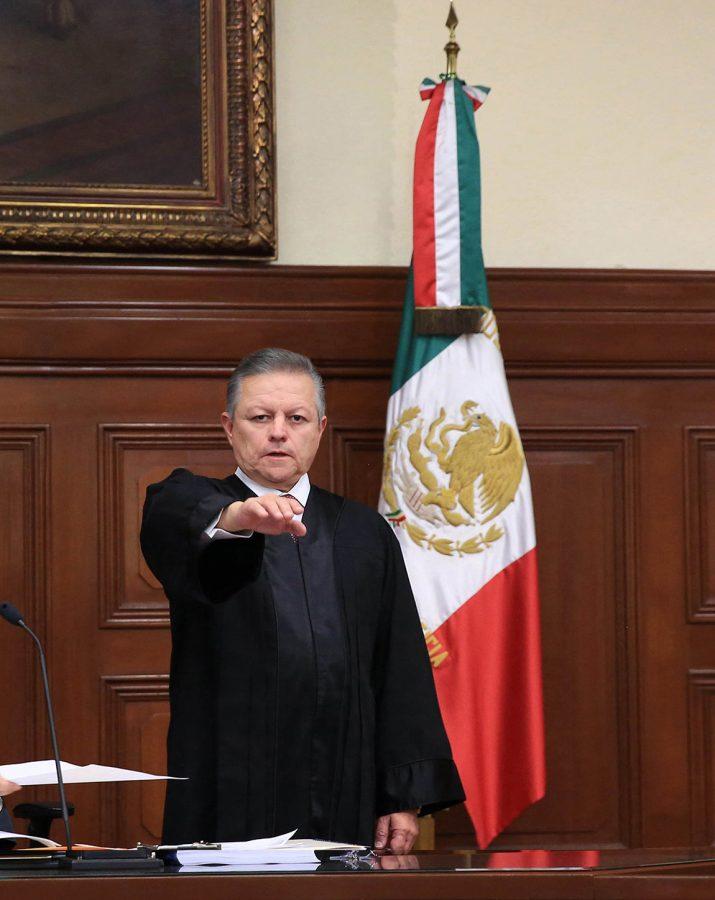 Protesta como Ministro Presidente - Ministro Presidente Arturo Zaldivar