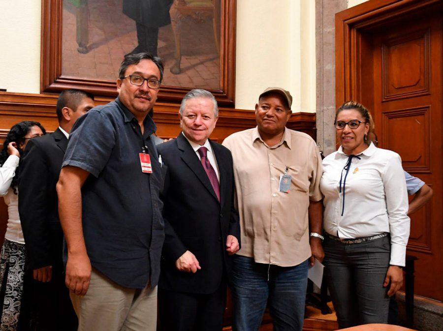 Reunión con la Coordinadora Regional de Autoridades Comunitarias de Guerrero y con el Centro de Derechos Humanos de Tlachinollan - Ministro Presidente Arturo Zaldivar