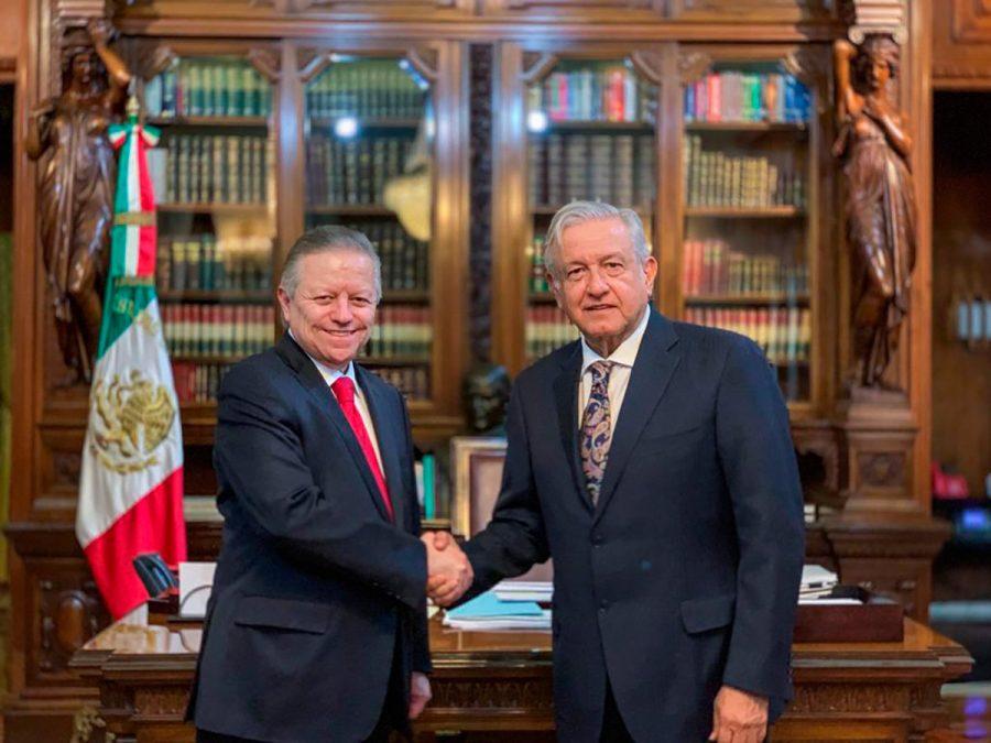 Reunión con el Presidente Andrés Manuel López Obrador - Ministro Presidente Arturo Zaldivar