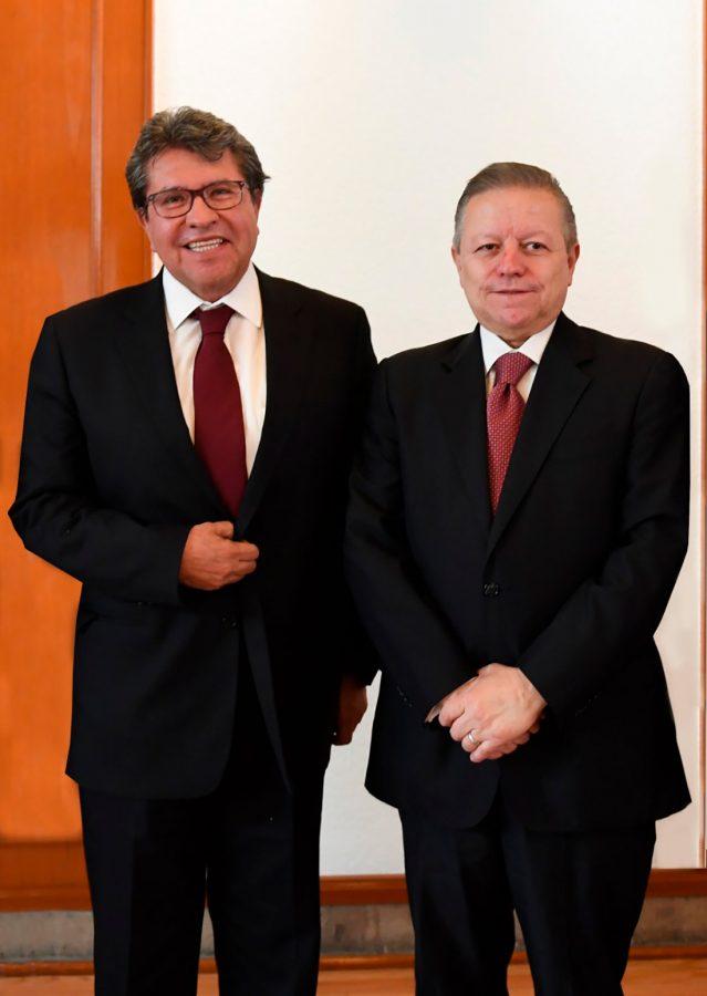 Reunión con Ricardo Monreal - Ministro Presidente Arturo Zaldivar