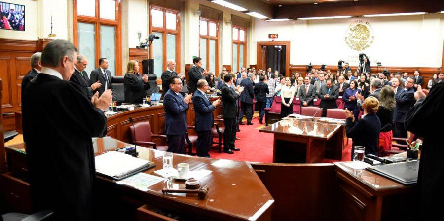 Toma de protesta Jueces de Distrito - Ministro Presidente Arturo Zaldivar