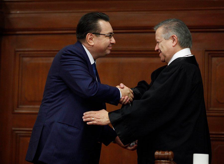 Toma de protesta nuevo Consejero del CJF - Ministro Presidente Arturo Zaldivar