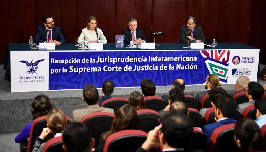 """Conversatorio sobre la """"Recepción de la jurisprudencia interamericana por la SCJN 1"""""""