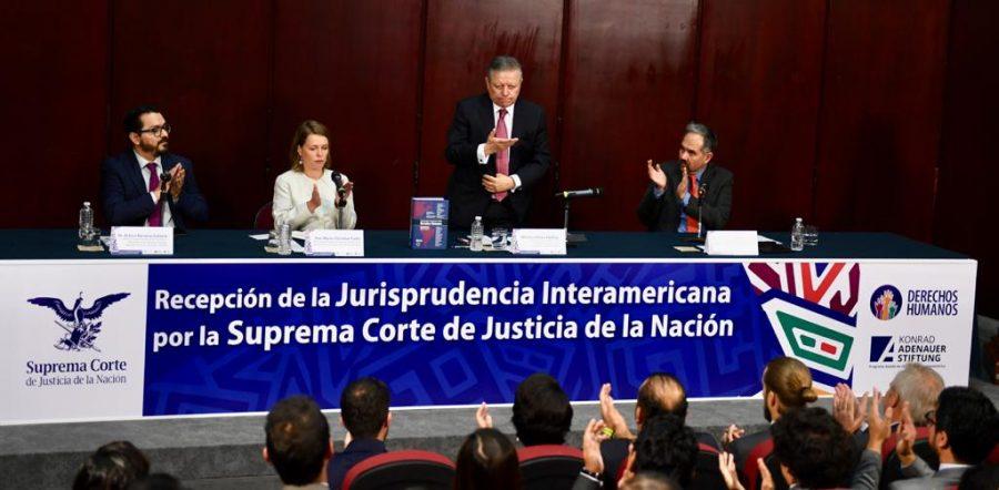 """Conversatorio sobre la """"Recepción de la jurisprudencia interamericana por la SCJN 2"""""""
