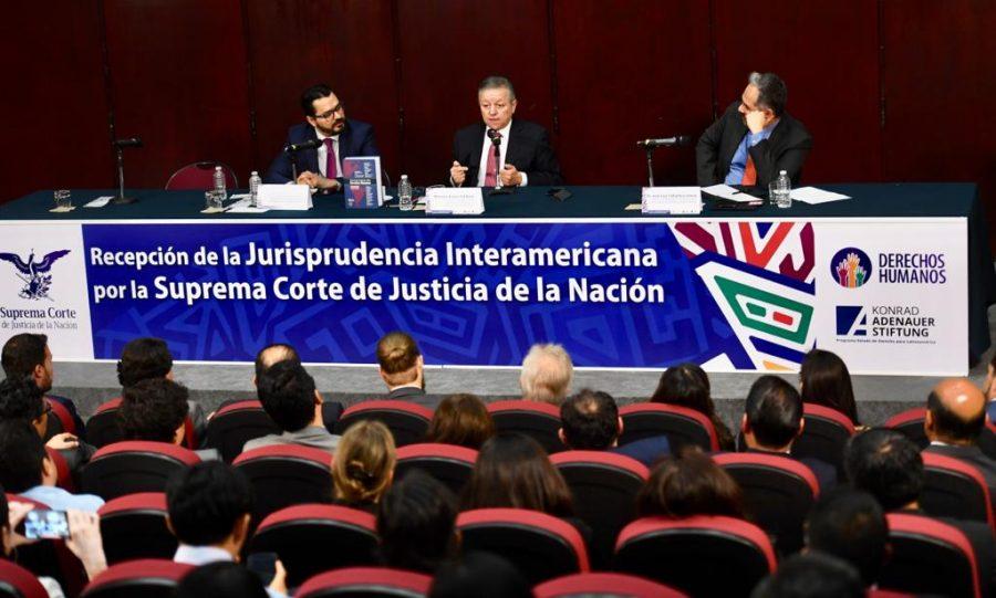 """Conversatorio sobre la """"Recepción de la jurisprudencia interamericana por la SCJN 3"""""""