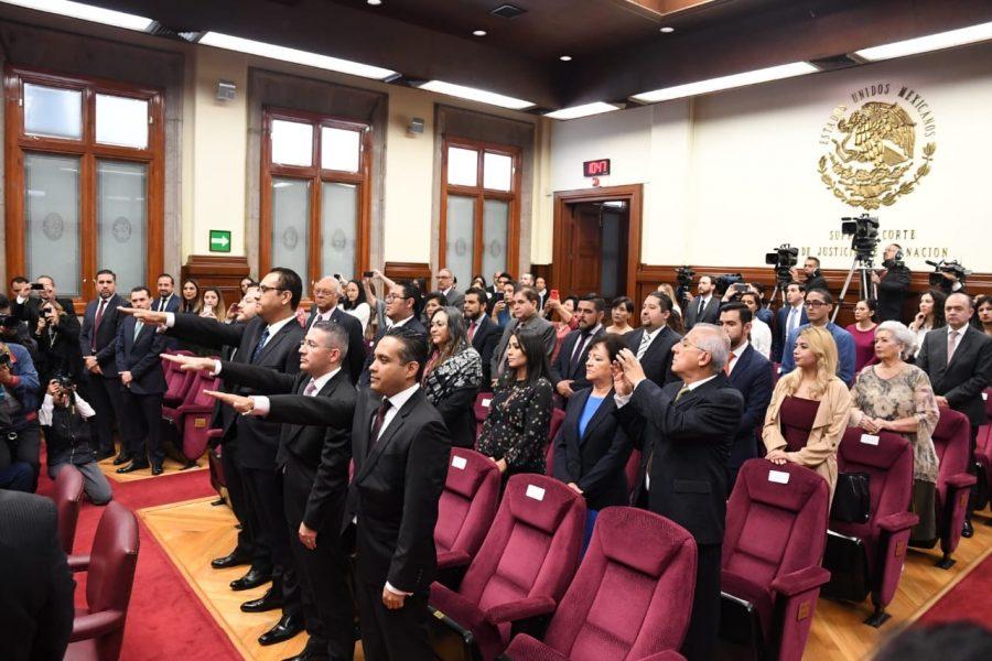 Toma de protesta a jueces de distrito en sesión solemne conjunta - 2
