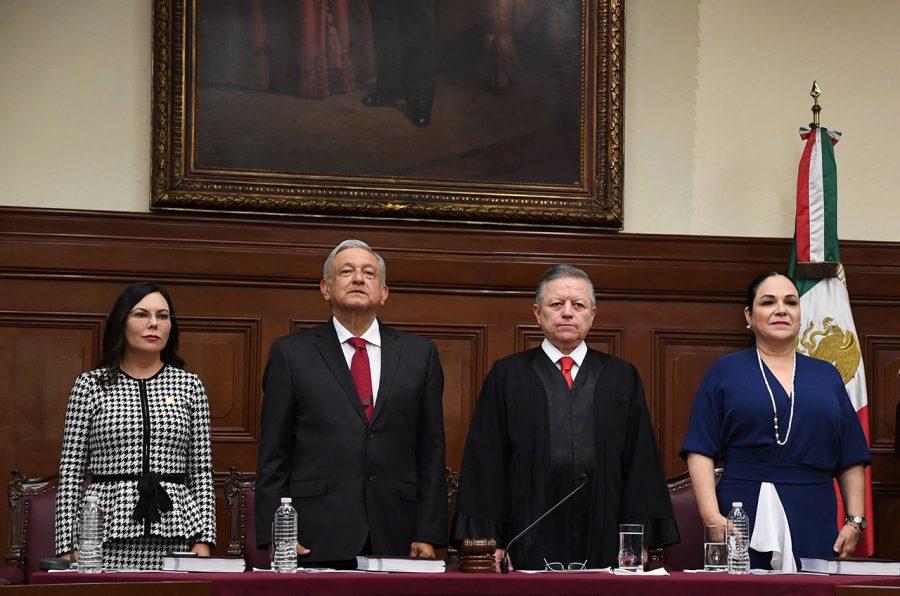 Primer Informe Anual de Labores Ministro Presidente Arturo Zaldívar - 1