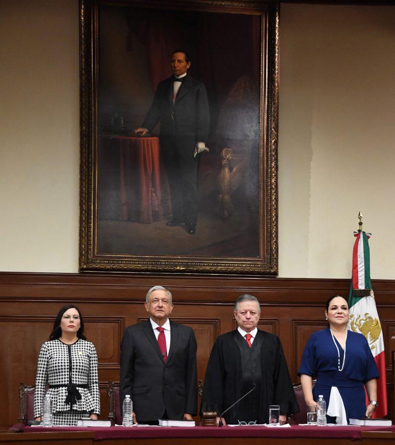 Primer Informe Anual de Labores Ministro Presidente Arturo Zaldívar - 2