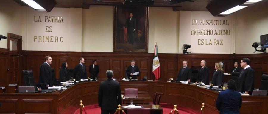 Declaración de apertura del Primer Periodo de Sesiones de la SCJN de 2020 - 1