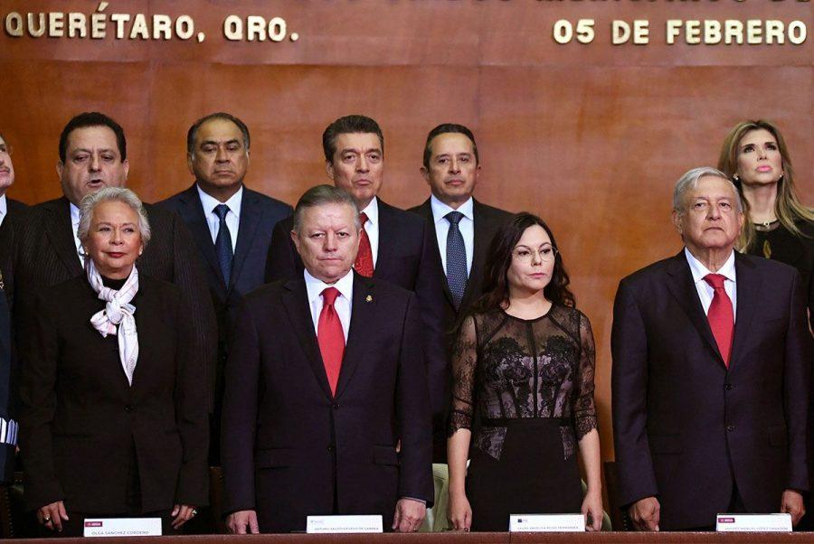 Conmemoración del l103 aniversario de la Promulgación de la Constitución Política de los Estados Unidos Mexicanos - 1