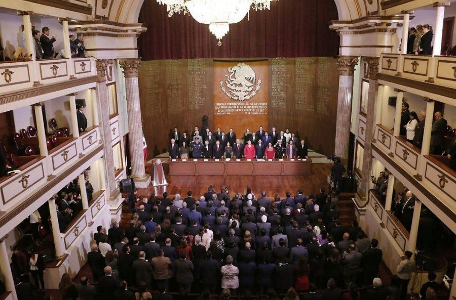 Conmemoración del l103 aniversario de la Promulgación de la Constitución Política de los Estados Unidos Mexicanos - 10