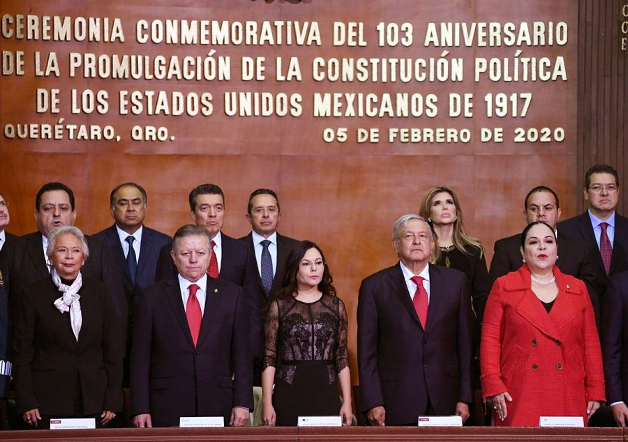 Conmemoración del l103 aniversario de la Promulgación de la Constitución Política de los Estados Unidos Mexicanos - 2