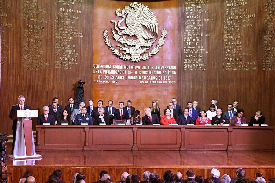 Conmemoración del l103 aniversario de la Promulgación de la Constitución Política de los Estados Unidos Mexicanos - 3
