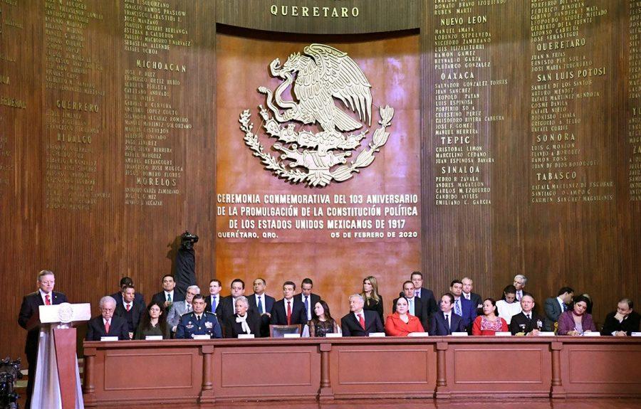 Conmemoración del l103 aniversario de la Promulgación de la Constitución Política de los Estados Unidos Mexicanos - 4