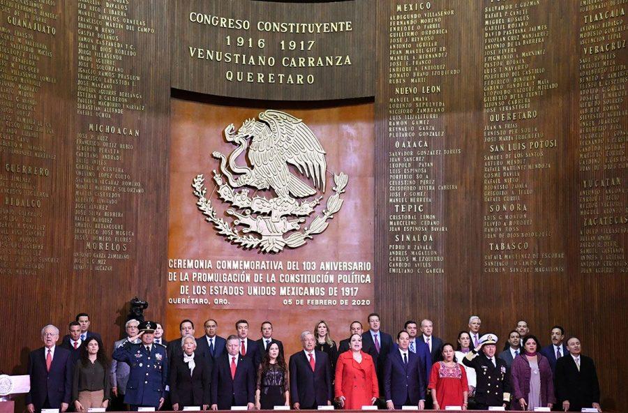Conmemoración del l103 aniversario de la Promulgación de la Constitución Política de los Estados Unidos Mexicanos - 9