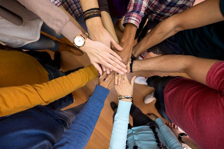 articulo milenio manos comunidad union