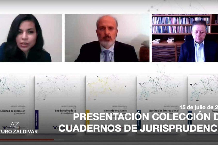 Presentación de la colección Cuadernos de Jurisprudencia