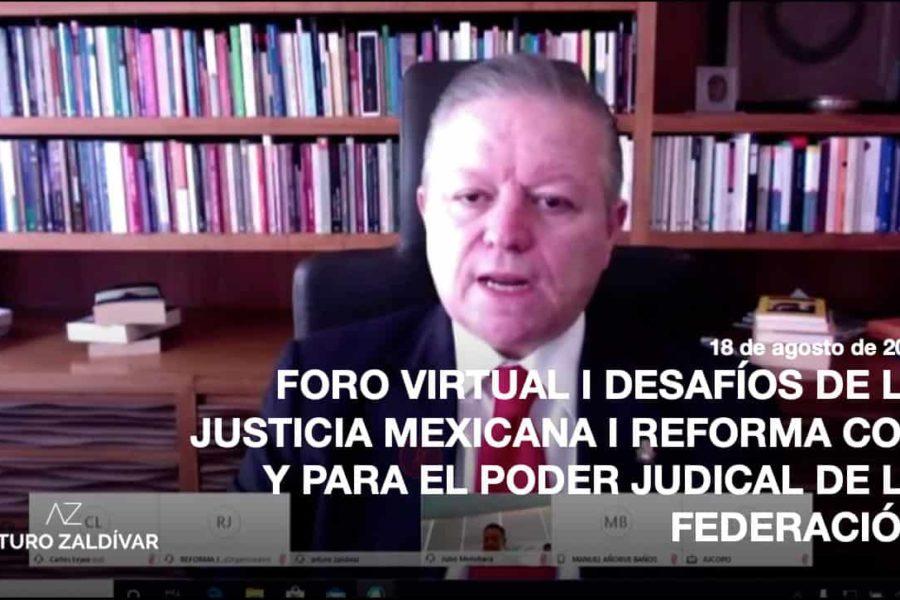 Foro Virtual Desafíos Justicia Mexicana