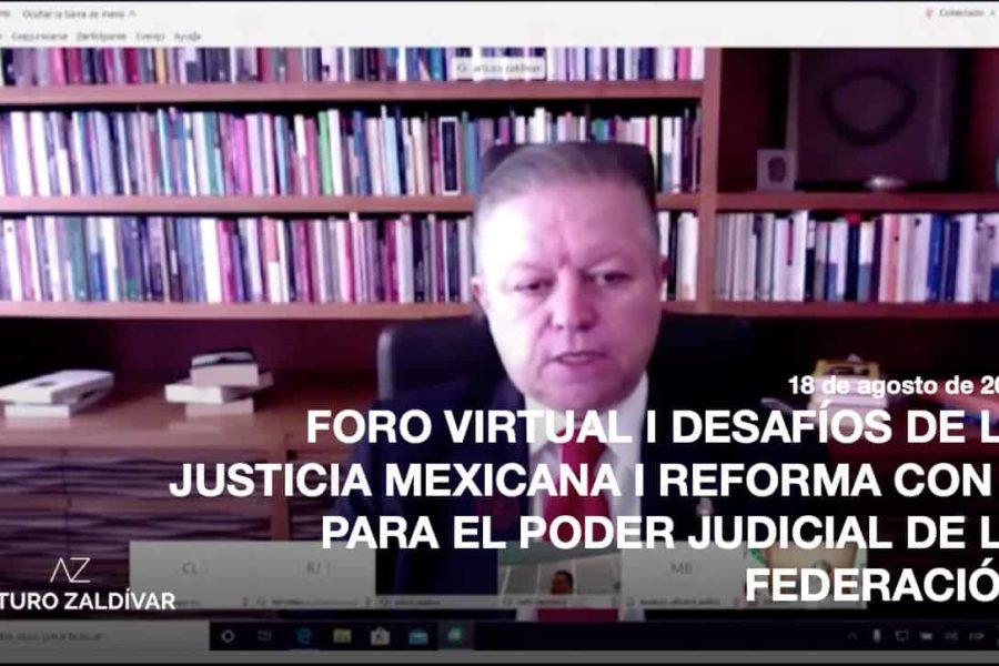 Foro virtual la Reforma con y para el Poder Judicial
