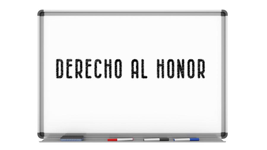 derecho al honor, personas cargos públicos