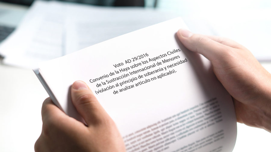 convenio de la haya sobre los aspectos civiles
