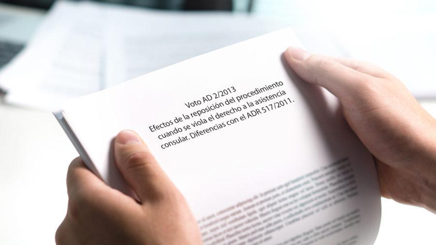 efecto violacion derecho asistencia consular