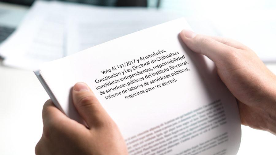 constitucion y ley electoral de chihuahua