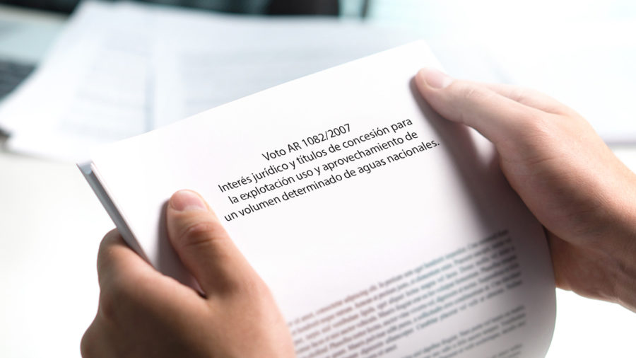 interès juridico titulos concesion