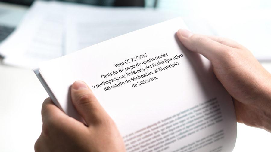 omisión de pago de aportaciones y participaciones