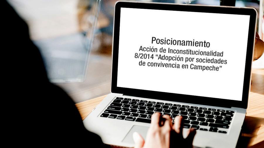 acción inconstitucionalidad 8 2014 sociedades convivencias campeche