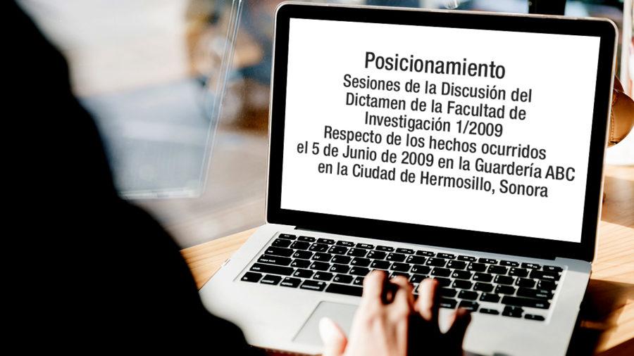 facultad investigacion caso guardería abc Hermosillo sonora