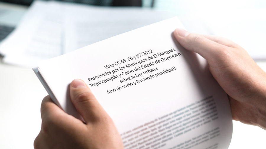 cc 65 66 y 67/2012 promovidas por los municipios
