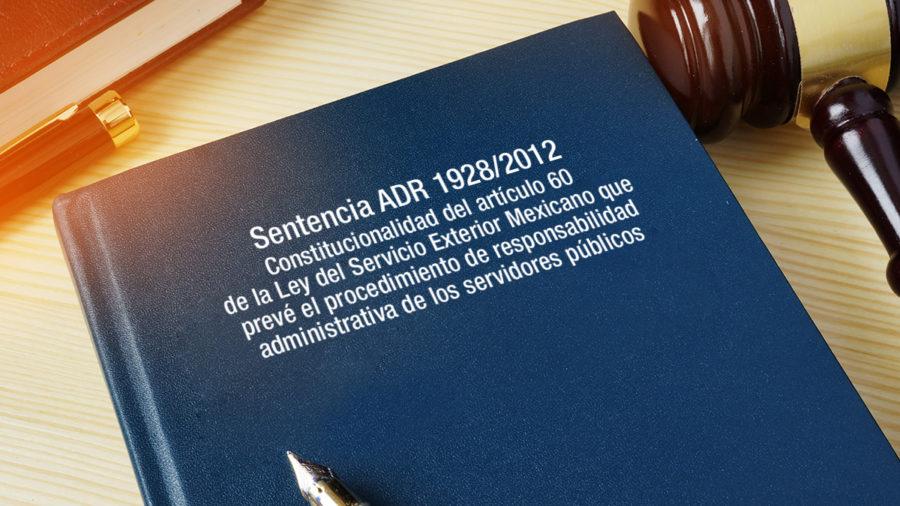 CONSTITUCIONALIDAD ART 60 LEY DEL SERVICIO EXTERIOR MEXICANO