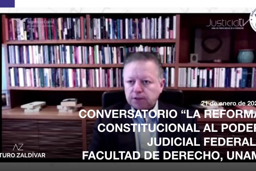 conversatorio reforma judicial unam