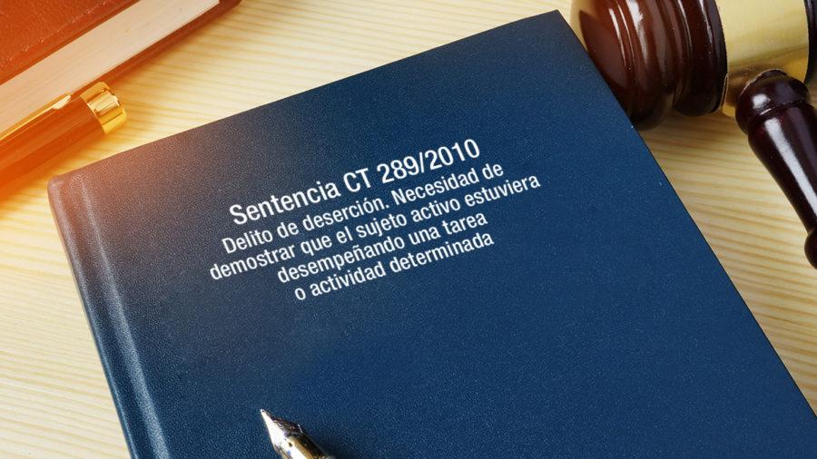 DELITO DE DESERCION NECESIDAD DE DEMOSTRAR