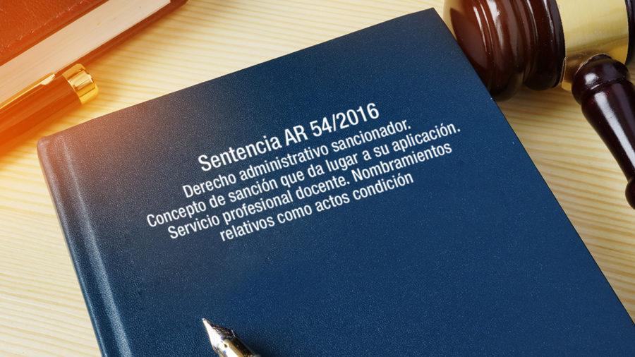 DERECHO ADMINISTRATIVO SANCIONADOR NOMBRAMIENBTOS RELATIVOS ACTOS CONDICION